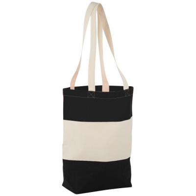 Image of Cotton Colour Block Tote