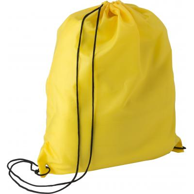 Image of RPET polyester (190T) drawstring backpack