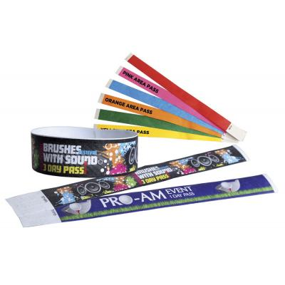 Image of Tyvek Security Wristbands